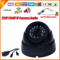 Wholesale IP Camera Wireless Inner Wi fi Module With External Microphone IP Wifi Camera Audio Indoor Surveillance Mobile Phone Cloud P2P