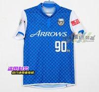 best kawasaki - 14 J league version Kawasaki years anniversary Frontale home blue jersey BEST QUALITY football uniform Yoshito