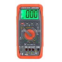 automotive tachometer - Hd At2150b Automotive Meter Tester Digital Multimeter Tachometer Cap Temp Sensor W Lcd Backlight Professional Tester Digital
