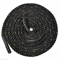 battle rope - 1 quot ft Poly Dacron Battle Rope Exercise Workout Strength Training Undulation
