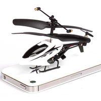 al por mayor quadcopter llevó la luz-Mini Drone 3.5CH radio control remoto helicóptero de control Quadcopter eléctrico RC con la luz del LED para los niños de juguete de Navidad