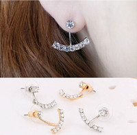 beauty drama - New arrival fashion beauty of television dramas with Sarah seul set auger pearl earrings for woman
