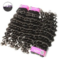 best extensions for curly hair - 8A Top Quality Brazilian Curly Unprocessed Virgin Hair Weave Bundles Deals for Cheap Best Remy Virgin Human Hair Extensions Deep Wave