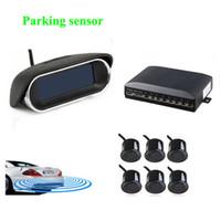 auto buzzer - car dvr Reverse Radar with LCD display sensors color buzzer alarm Parktronic Car Rear view auto detector Car wireless parking sensor