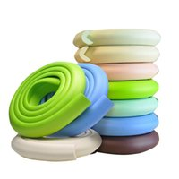 Wholesale 200cm Child Baby Safety Products Glass table Edge Furniture Guard Strip Horror crash bar Corner foam Bumper Collision Protector