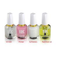 Wholesale 1Bottle Colours BNC Nail Polish Calcium Base Nail Oil Transparent Soften Oil Nail Art Ment Oil Acrylic Uv Gel Kits