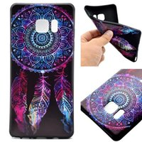 Wholesale For Samsung Galaxy S7 S7edge S7plus S6 S6edge S6plus A710 A510 A310 Note7 Soft TPU sunflower mandala Phone Cases