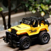 rc drift car - RC Jeep Drift Speed Radio SUV Remote control Off Road vehicle Steering wheel RC Jeep vehicle Car Toy Yellow RED Toys