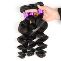 Wholesale Cheap 1pcs Hair Extension - 1pcs Cheap Virgin Loose Wave 8A Peruvian Brazilian Indian Malaysian Hair Extension Peruvian Hair Bundles kilala Hair Products Sale