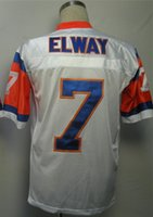 best john - John Elway Jersey Throwback Football Jersey Best quality Authentic Jersey Size M L XL XXL XXXL Accept Mix Order