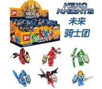 Wholesale New NEXO KNIGHTS minifigures Building Blocks design children Phantom Ninja DIY Bricks game Toys