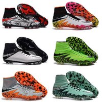 ankle grinding - Hypervenom Phantom II Neymar Men s Firm Ground Soccer Cleats High Ankle Top Football Boots Hypervenom FG Soccer Shoes Cheap Football Shoes