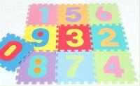 baby floor mat - 3D EVA Baby Play Puzzles Mats Set Colorful Waterproof Interlocking Numbers Math Floor Mats Baby Crawling Mats For Baby Play