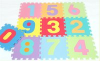 babies floor mat - EVA D Baby Play Puzzles Mats Set Colorful Waterproof Interlocking Numbers Math Floor Mats Baby Crawling Mats For Baby Play
