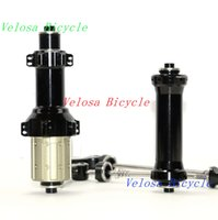Wholesale Novatec road bike hubs straight pull sealed bearing alloy quick release skewers included