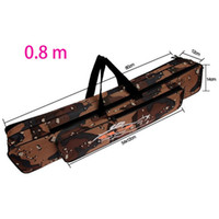 Wholesale 0 M M Outdoors Waterproof Fishing Rod Bag Double Layer Desert Camouflage Shoulder Strap Tackle Bag