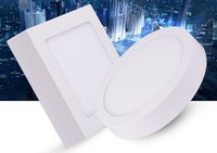 Wholesale 10PCS W W W W W V V CE RoHs Certification Surface Mounted LED Downlight MM thickness LED Panel Light