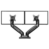 arm gas - NB F160 Gas Spring Degree Desktop quot quot Dual Monitor Holder Arm Full Motion TV Mount