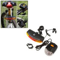 bell bike light set - Multifunction Versatile Mountain Bike Turn Signal Bicycle Taillight Electronic Bell Horn Brake Lights Bicicleta Set Y0369