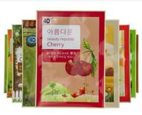 anti aging foods - 2016 D Pulp Facial Essence Face Mask Korean Cosmetics FOOD Skin Care Mix Types Sheet Pack Moisturising Mask