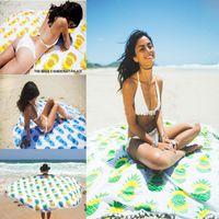 148 * 148cm Toalla de playa redonda india del verano 2016 Mandala de la mandala Tapicería al aire libre de la comida campestre Manta de la yoga Serviette De Plage