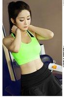 Wholesale 2016 New Arrival Wireless No Sagging Sport bra Push up Seamless bra Yoga underwear