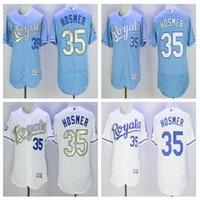 baseballs hot - 2016 new hot selling jersey Kansas City Baseball jersey Eric Hosmer Majestic White World Series Champions Gold Program jerseys
