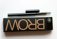 Wholesale Sugar box automatic rotary waterproof anti sweat brush double eyebrow pencil B28 cosmetics