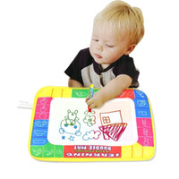Wholesale New X19cm Children Water Drawing Painting Writing Mat Board Magic Pen Doodle Toy Christmas Gift Whale