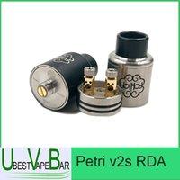 Precio de Rda petri-Dotmod Petri v2s RDA pulverizador de goteo reconstructible 1: 1 clone petri v2 atomizador perti atomizador cigarrillos electrónicos rda atomizadores