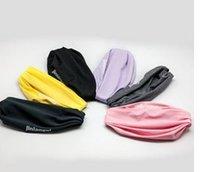 Wholesale HOT Women Sports GYM Stretchy Headband Stretch Cotton Hairband Sweatband Head band For Yoga Running Headbands