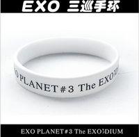 Wholesale exo got7 ikon infinite btob cnblue ftisland fx pairs silicon bracelet