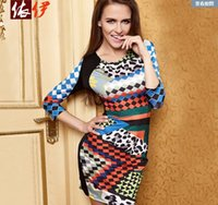 Wholesale Hit color Slim Package hip Sexy dress Sexy Catsuit Costumes For Women