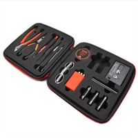 authentic bags - Authentic coil master v2 kit DIY tool bag coil winder Coil Master Tool Kit RDTA Atomizer Rebuild Vape Mod kits
