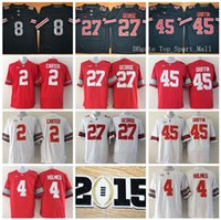 Wholesale Ohio State Buckeyes Football Jerseys College Cris Carter Santonio Holmes Eddie George Archie Griffin th Championship