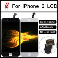 Wholesale For iPhone LCD Quality AAA inch Display Touch Screen Digitizer Assembly pantalla ecran with Cold Press Frame DHL