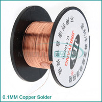 Wholesale 0 MM Copper Solder Soldering welding cellphone repair PPA Enamelled Reel Wire