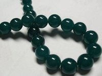 beryl gemstones - 8mm Green Beryl Gemstone Round Loose Beads quot
