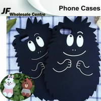 apple hedgehog - Cartoon Cute Hedgehog Brown Bear Rabbit Phone Cases For iphone s plus plus Silicone Rubber Soft Back Cover Protector Shell Skin