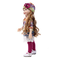 american beauty dolls - Hot Sale CM AMERICAN GIRL Long hair Beauty Reborn handmade newborn baby dress up dolls for girls gift kids brinquedos
