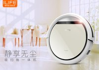 Wholesale Classic ILIFE V5 Robot Vacuum Cleaner for Home HEPA Filter Sensor Remote control Self Charge auto intelligent robot