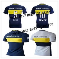 best polo - Best quality Bocaings Juniors CARLITOS soccer shirts GAGO BLUE WHITE BLACK ROMAN TEVEZ SHIRTS