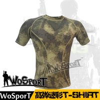 Wholesale ALWS02 Manufacturers selling outdoor hunting sportswear shirt Quick dry camping clothing tight T shirt free ship