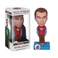 big bang theory vinyl - Funko POP The Big Bang Theory Sheldon Edition Bobblehead Vinyl Doll Toy Car Decoration CM Brinquedo Kids Christmas Gift MY376
