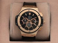 automatic watch manufacturers - Manufacturer luxury big bang automatic mechanical watch leather multifunction pin full function automatic watch men s Watch