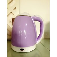 Wholesale electric kettle L stainless steel interior double housing purple