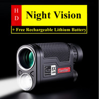 Wholesale 8X32mm Larger Vision HD Professional LED Night Vision Monocular Telescope Military Hunting Device with Lithium Battery