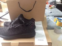 Wholesale Pirate Black Boost Kanye Milan West With original Box Bag and Receipt Quality running shoes Sneakers Fashion Shoes