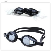 Wholesale Anti mist Swinming Glasses Suitable for man and women Diopter nine colors Strength Separate packing
