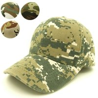 adult baseball uniforms - Amazing camouflage colour baseball hunting Meisai disguise pretend army military fans uniform sport hunting caps hats for adult